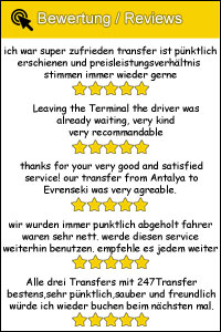 247 Transfer Bewertung Reviews